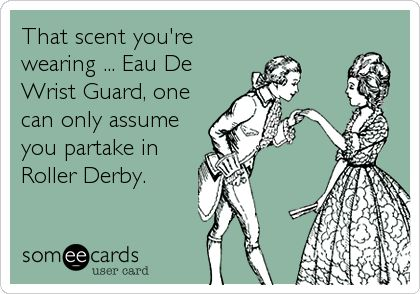 That scent you are wearing - eau de wristguard
